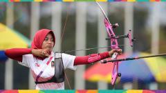 Indosport - Atlet panahan, Diananda Choirunisa, ungkapkan isi hati nan mengharukan sebelum berangkat ke Olimpiade Tokyo 2020.