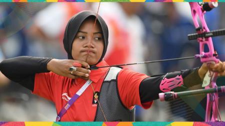 Diananda Choirunisa sumbang medali perak untuk Indonesia. - INDOSPORT