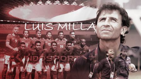 Luis Milla resmi diperpanjang tangani Timnas Indonesia. - INDOSPORT