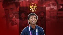 Indosport - Luis Milla ketika masih menangani Timnas Indonesia.