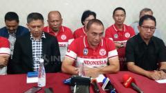 Indosport - PSSI melakukan rapat bersama komite eksekutif untuk memutusakan kelanjutab kerja sama dengan Luis Milla.