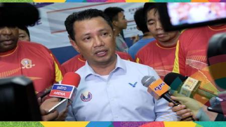Presiden Asosiasi Bulutangkis Malaysia (BAM), Norza Zakaria menyebut kalau Timnas Bulutangkis Malaysia berada dalam track yang tepat menuju kejayaan. - INDOSPORT