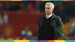 Indosport - Pelatih Man United, Jose Mourinho.