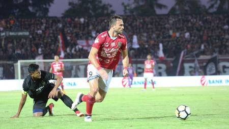 Striker Bali United Ilija Spasojevic. - INDOSPORT