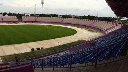 Stadion Benteng Taruna, markas baru Persita Tangerang. - INDOSPORT