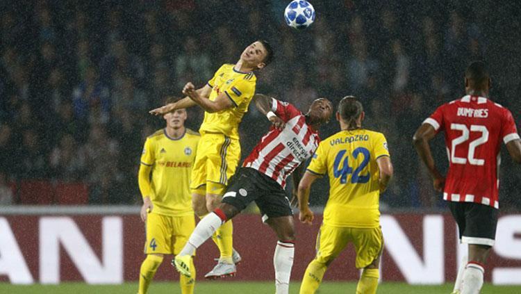 PSV Eindhoven vs Bate Borisov. Copyright: INDOSPORT