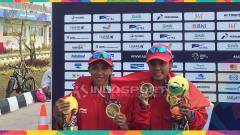 Indosport - Sumbang Medali untuk Indonesia, Ini Harapan Dua Atlet Mungil Kano untuk Pemerintah