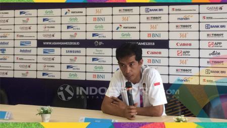 Asry, Pelatih Kuadran Putra Indonesia. - INDOSPORT