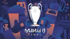 Indosport - Logo Final Liga Champions musim 2018/19