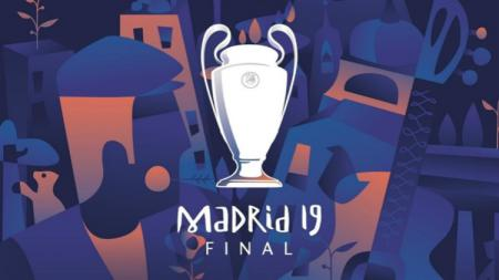 Logo Final Liga Champions musim 2018/19 - INDOSPORT