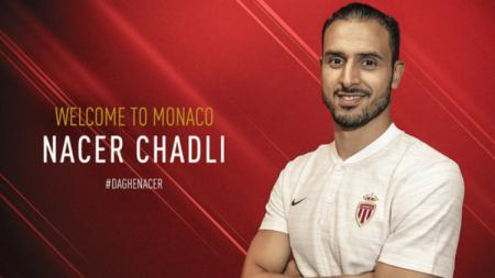 AS Monaco resmi mendatangkan Nacer Chadli. - INDOSPORT
