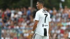 Indosport - Cristiano Ronaldo saat bermain di salah satu laga Juventus.