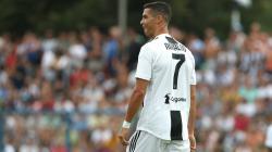Cristiano Ronaldo saat bermain di salah satu laga Juventus.