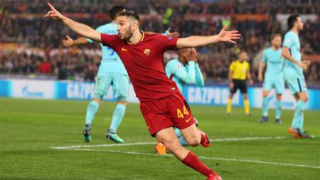 Bek AS Roma, Kostas Manolas. - INDOSPORT