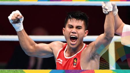 Sunan Agung Amoragam peraih medali perunggu cabor tinju - INDOSPORT