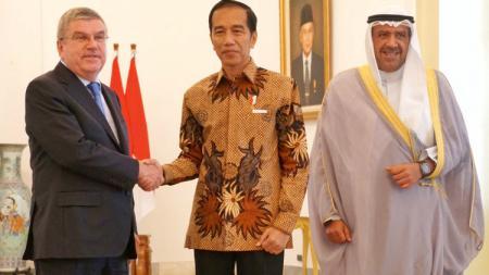 Jokowi bertemu Ketua IOC dan OCA - INDOSPORT
