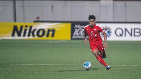 Pemain Home United Song Ui-Young yang tertarik gabung ke Persija Jakarta. - INDOSPORT