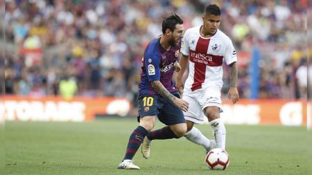 Berikut prediksi pertandingan SD Huesca vs Barcelona di ajang LaLiga Spanyol pekan ke-17, Senin (4/1/2021) pukul 03.00 WIB di Estadio El Alcoraz. - INDOSPORT