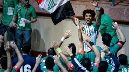 Atlet bola tangan Irak, Naser Baderaldeen. - INDOSPORT