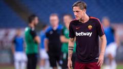Indosport - Nicolo Zaniolo, pemain muda As Roma.