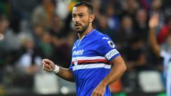 Indosport - Fabio Quagliarella, pemain Sampdoria.