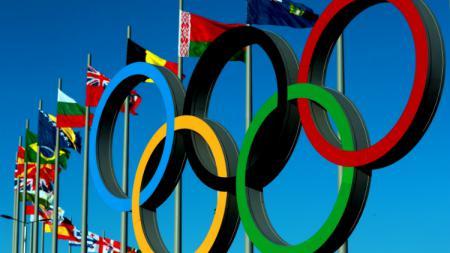 Logo Olimpiade. - INDOSPORT