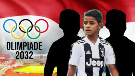 Jadi tuan rumah Olimpiade 2032, Indonesia bakal kedatangan tiga anak pesepakbola bintang Eropa, salah satunya Ronaldo JR. - INDOSPORT