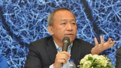 Indosport - Direktur Utama Persib Bandung Glenn Sugita.