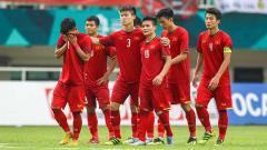Indosport - Skuat Vietnam U-23 yang berlaga di Asian Games 2018.