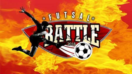 Logo Super Soccer Futsal Battle 2018. - INDOSPORT
