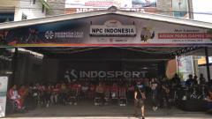Indosport - Penampakan kantor National Paralympic Committee (NPC) Indonesia.