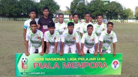 Skuat Akademi PSM Makassar U-16 yang berlaga di Piala Menpora 2018. - INDOSPORT