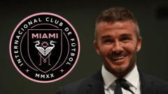 Indosport - David Beckham rilis klub barunya di MLS, yaitu Inter Miami FC