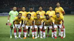 Indosport - Skuat Selangor FA saat beruji coba dengan Persija.