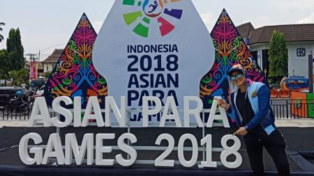 Selebritas Indonesia, Bertrand Antolin pembawa boro Asian Paragames 2018. - INDOSPORT