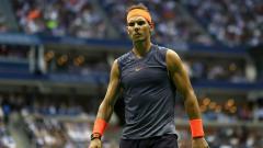 Indosport - Rafael Nadal di AS Terbuka 2018.