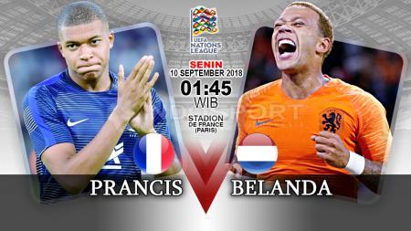 Prancis vs Belanda (Prediksi) - INDOSPORT