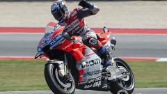 Indosport - Andrea Dovizioso mengaku sempat ketakutan saat berduel dengan Marc Marquez di MotoGP Austria 2019.