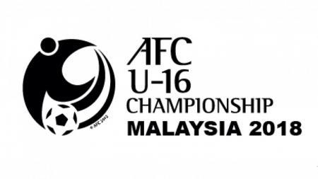 Logo kejuaraan U-16 AFC 2018 - INDOSPORT