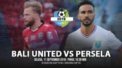 Indosport - Bali United vs Persela Lamongan.