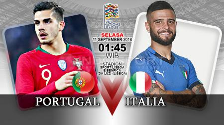 Portugal vs Italia (Prediksi) - INDOSPORT