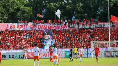 Suporter Semen Padang SPARTACKS. - INDOSPORT