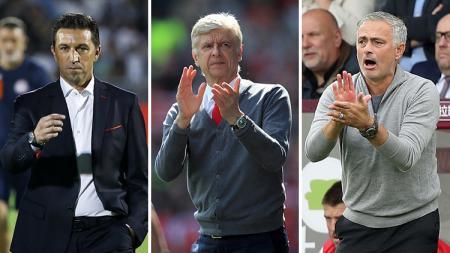 3 Pelatih yang pernah terpeleset. - INDOSPORT