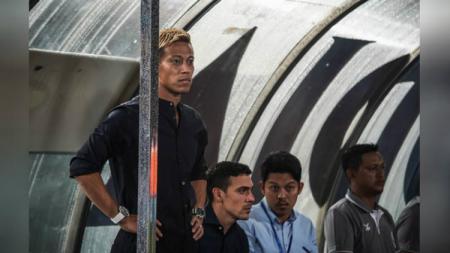 Keisuke Honda saat memimpin skuat tim nasional Kamboja. - INDOSPORT