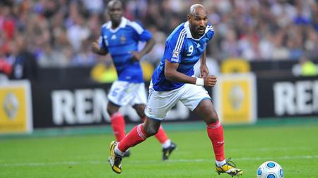 Nicolas Anelka saat berseragam timnas Prancis di Kualifikasi Piala Dunia 2010. - INDOSPORT