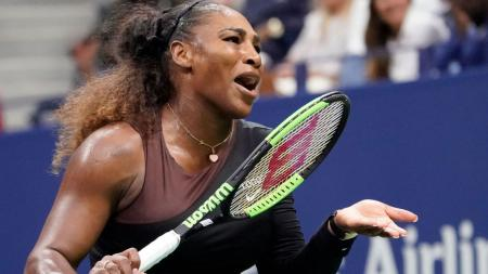 Serena Williams membawa serta Qai Qai ke ajang Australia Terbuka 2019. - INDOSPORT