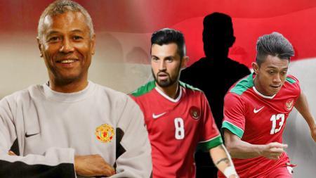 3 pemain Timnas Indonesia yang ditakuti oleh pelatih Mauritius, Fransisco Filho. - INDOSPORT