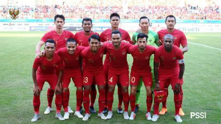 Skuat Timnas Indonesia vs Mauritius. - INDOSPORT