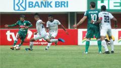 Indosport - PSS Sleman dalam sebuah pertandingan di Liga 2.