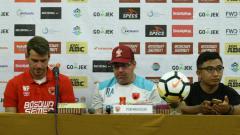 Indosport - PSM Makassar dalam jumpa pers.